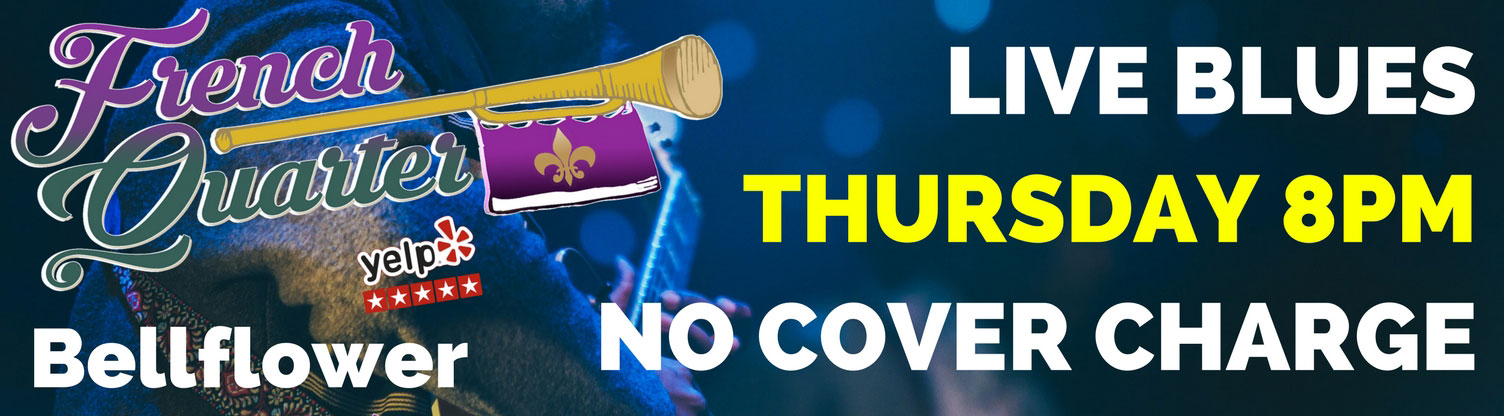 French Quarter Live Blues Thursday