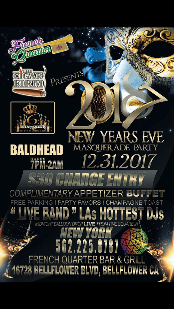 New Years Eve Masquerade Party - French Quarter