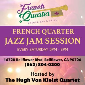 French Quarter Jazz Jam Session @ French Quarter Creole Bar and Grill