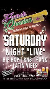 Saturday Night Live @ The French Quarter Creole Bar and Grill