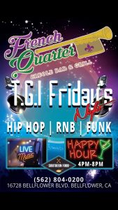 T.G.I. Fridays @ The French Quarter Creole Bar and Grill