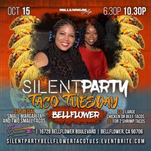 Silent Party Taco Tuesday @ French Quarter Bar & Grill
