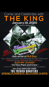 MLK Day @ French Quarter Bar & Grill